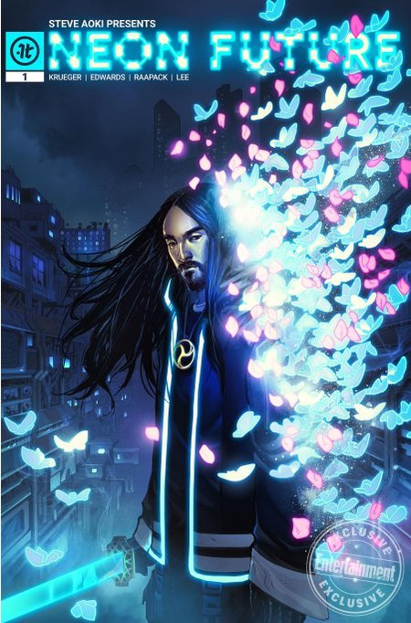 Steve Aoki will release a comic book entitled Neon Future