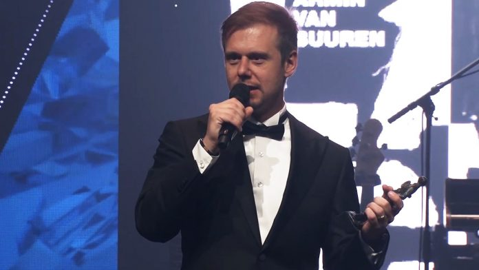 Armin van Buuren won the Edison Pop award